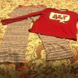 Abercrombie Kids Pajama set boy SZ 11/12